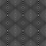 geometryczna deseniowa bezszwowa tekstura Obraz Royalty Free