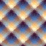 Geometryczna diagonalna szkocka krata Obrazy Stock