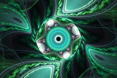 Geometryczna fractal ilustracja Fotografia Royalty Free