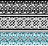 Geometryczna granica Obraz Royalty Free