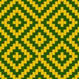 Geometryczna kratownica Wyplata Bezszwowego wzór Fotografia Royalty Free