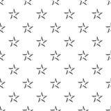 Geometryczna postać niebiański gwiazdowy wzór ilustracja wektor