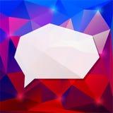 Geometryczna rama Zdjęcie Royalty Free