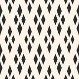 Geometryczna tekstura z rhombuses Tradycyjny motyw, argyle wzór Obraz Royalty Free