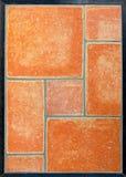 geometryczne płytki Obrazy Royalty Free