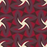 Geometrycznego abstrakcjonistycznej sztuki wzoru opanowana tkanina Zdjęcie Stock