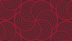 Geometrycznego abstrakcjonistycznej sztuki wzoru opanowana tkanina Fotografia Royalty Free