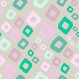 Geometrycznego bezszwowego patternin Memphis retro styl, moda 80s - ilustracja wektor