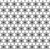 Geometrycznego kwiatu bezszwowy wzór Zdjęcia Royalty Free
