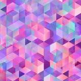 Geometrycznego sztuka wzoru kolorowa graficzna tekstura obrazy royalty free