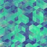 Geometrycznego sztuka wzoru kolorowa graficzna tekstura fotografia stock