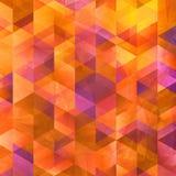 Geometrycznego sztuka wzoru kolorowa graficzna tekstura zdjęcie stock