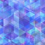 Geometrycznego sztuka wzoru kolorowa graficzna tekstura obrazy stock