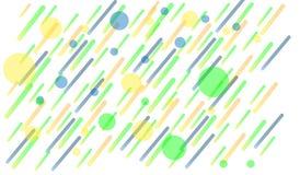 Geometrycznego tła jaskrawi kolory i dynamiczni kształtów składy ściągania ilustracj wizerunek przygotowywający wektor royalty ilustracja