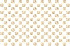 Geometrycznego tła ceramiczny puchar z solą umieszcza na płótnie w zataczającym się rozkazie na bielu Zdjęcia Stock