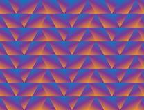 Geometrycznego trójboka bezszwowy tło royalty ilustracja