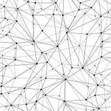 Geometrycznej siatki Bezszwowy wzór royalty ilustracja