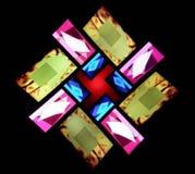 geometryczni światła Zdjęcia Royalty Free