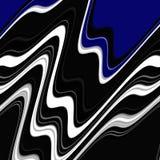 Geometryczni kształty, czarny błękitnych szarość abstrakta tło Zdjęcia Royalty Free