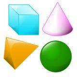 geometryczni kształty Zdjęcie Royalty Free