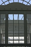 geometryczni okno Zdjęcie Stock