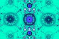 Geometryczni wzory mogą ilustrować rojenie wyobraźni psychodelicznych astronautycznych sen i magicznego wszechświat piękny fracta Fotografia Stock