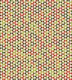 Geometryczny abstrakcjonistyczny bezszwowy deseniowy motywu tło trójboki Obrazy Royalty Free
