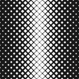 Geometryczny abstrakcjonistyczny czarny i biały zaokrąglony kwadrata wzoru tło - wektorowy projekt ilustracja wektor