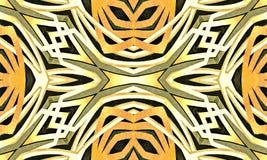 Geometryczny Abstrakcjonistyczny Plemienny Stylowy Desing ilustracja wektor