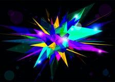 geometryczny abstrakcjonistyczny tło Fotografia Royalty Free