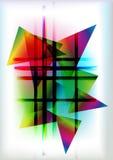 geometryczny abstrakcjonistyczny tło Zdjęcia Stock