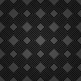 Geometryczny Abstrakcjonistyczny wektoru wzór Geometryczny nowożytny ciemny ornament ilustracja wektor