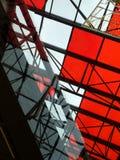 geometryczny architektoniczny tło Zdjęcia Stock