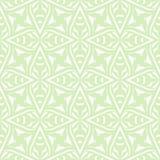 Geometryczny art deco rocznika wzór w bielu Zdjęcia Stock