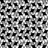 Geometryczny bezszwowy deseniowy tło Obraz Royalty Free