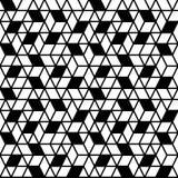 Geometryczny bezszwowy deseniowy tło Fotografia Royalty Free