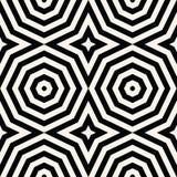 Geometryczny Bezszwowy Deseniowy wektor Zdjęcia Royalty Free