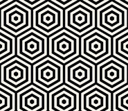 Geometryczny Bezszwowy Deseniowy wektor Obraz Stock