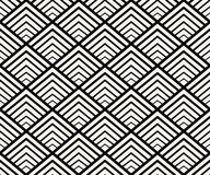 Geometryczny Bezszwowy Deseniowy wektor Zdjęcia Stock