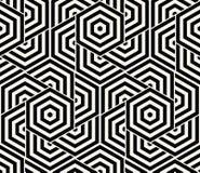 Geometryczny Bezszwowy Deseniowy wektor Zdjęcie Royalty Free