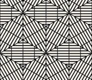 Geometryczny Bezszwowy Deseniowy wektor Fotografia Royalty Free