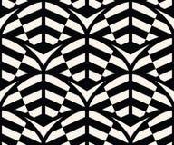 Geometryczny Bezszwowy Deseniowy wektor Fotografia Stock