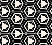 Geometryczny Bezszwowy Deseniowy wektor Obrazy Royalty Free