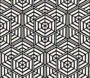 Geometryczny Bezszwowy Deseniowy wektor Zdjęcie Stock