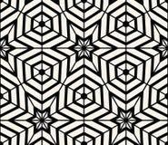 Geometryczny Bezszwowy Deseniowy wektor Obrazy Stock