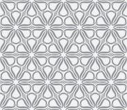 Geometryczny bezszwowy kwiatu wzór Zdjęcie Royalty Free