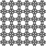 Geometryczny bezszwowy ornamentu wzór Wektorowy tło royalty ilustracja