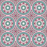 Geometryczny bezszwowy ornamentu wzór Fotografia Royalty Free