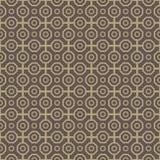 Geometryczny Bezszwowy Wektorowy abstrakta wzór Obraz Stock