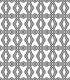 Geometryczny Bezszwowy Wektorowy abstrakta wzór Fotografia Stock